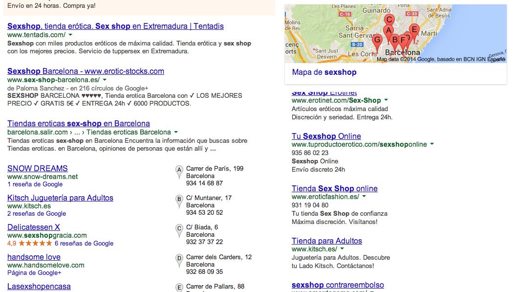 Imagen precios seo posicionamiento web en córdoba ejemplo seo local
